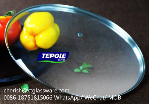 Eco-friendly Tempered Glass Lids Factory