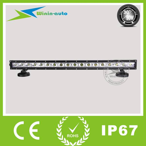 30 90W cree LED Work Light Bar for Mining forklift 8100 Lumen WI9012-90