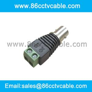 BNC Female Connector to Terminal Screws