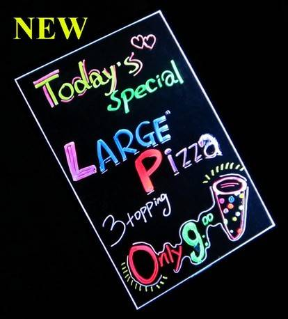 Led Colourful Writing Board for Store Manager
