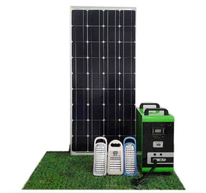 Stand Alone Home Solar Energy System Kit 150W