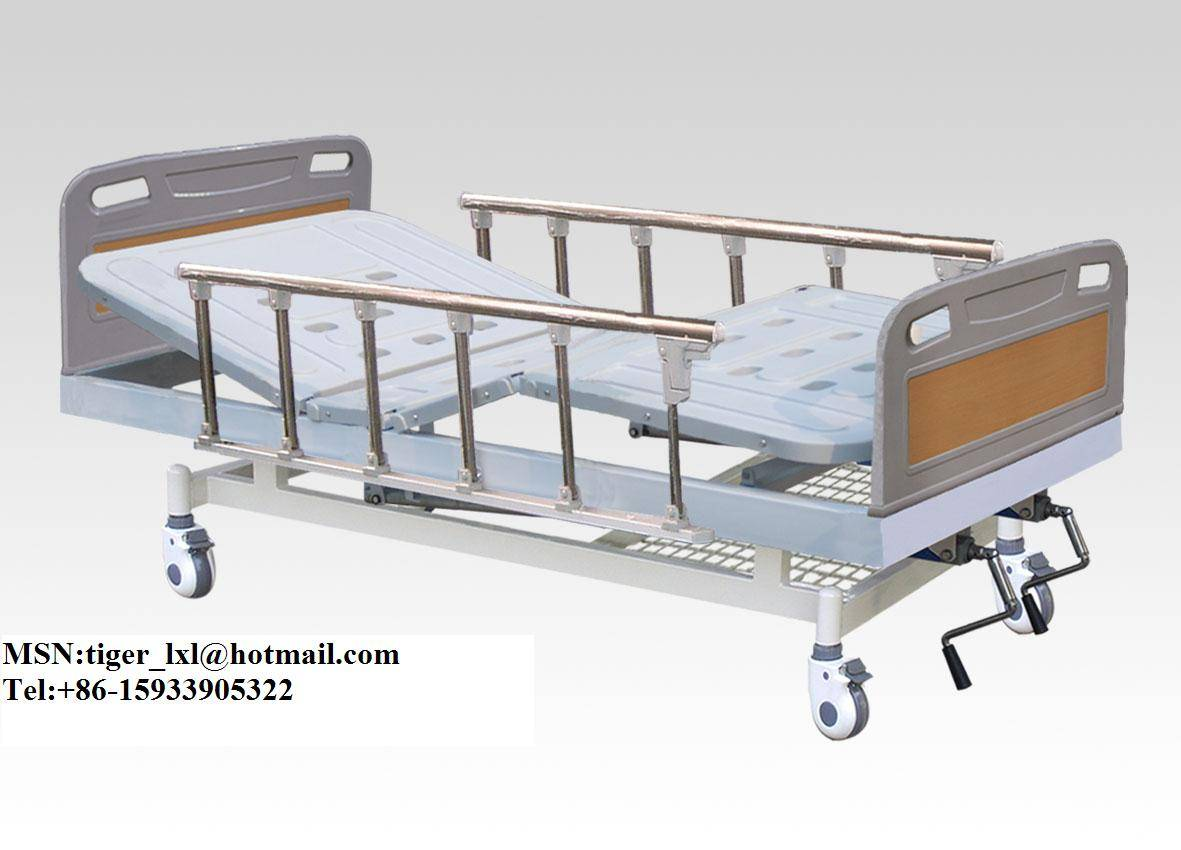 A-21 movable double Shakes medical bed With ABS Bed Head