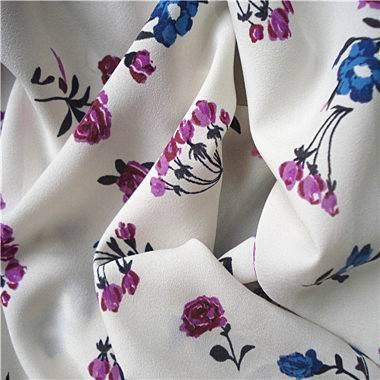 75D Chiffon Fabric,made of 100% Polyester,printed, soft, drapability,used for dress,garments