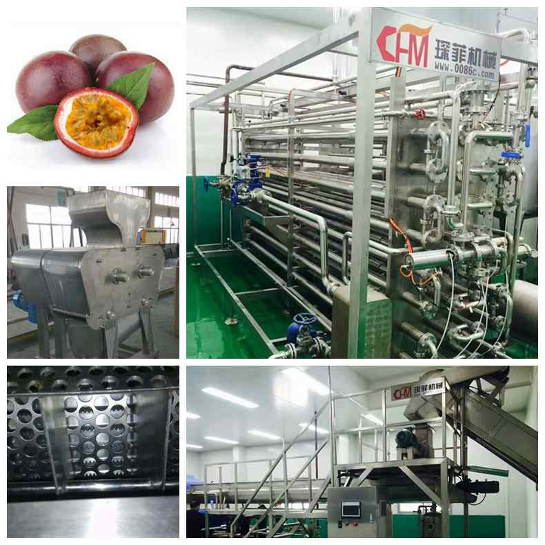 Passion fruit jam production line machine
