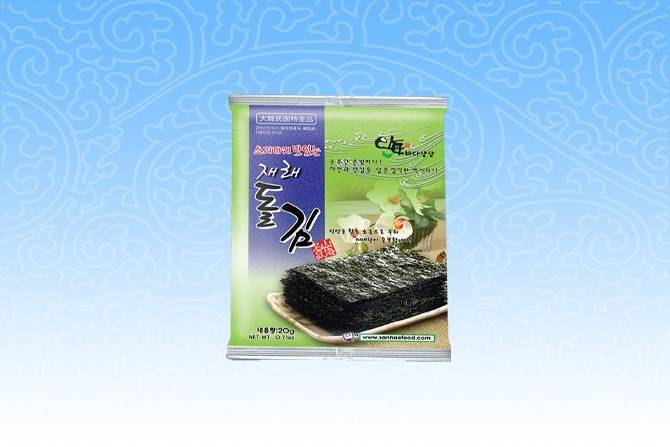 SESONED LAVER (Jae-Rae Dol-Gim) Delicious crispy Jae-Rae-Gim