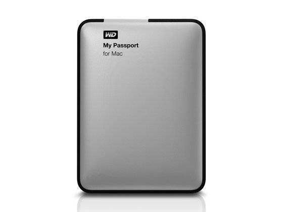 Western Digital WD My Passport for Mac 2TB External HDD Hard Drive Disk