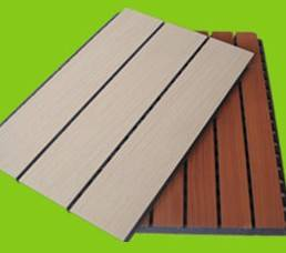 slot perorated acoustic panel