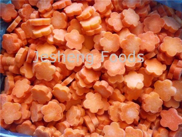 Selling Frozen carrots in flower