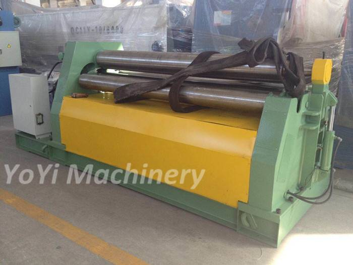 W12-30mm 2500mm 4 roller plate rolling machine