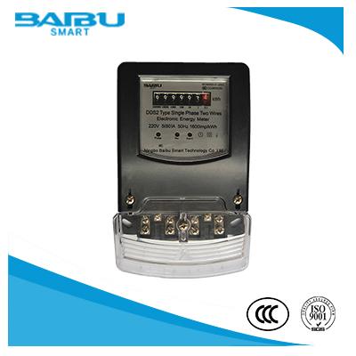 IEC Standard Single Phase Energy Meter/Digital Display
