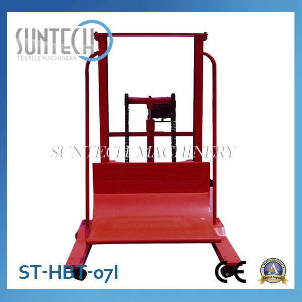 Suntech Low Price Hydraulic Cloth Roll Doffing/Dosing Trolley