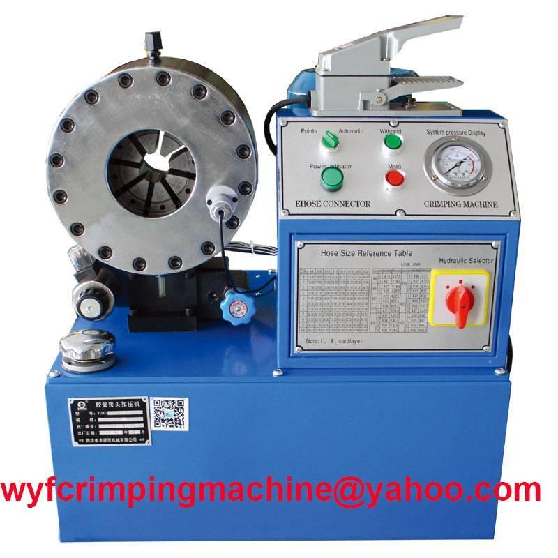 hydraulic hose crimping machine