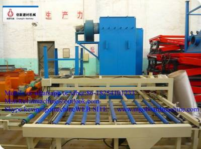 Composite vent-pipe board production line