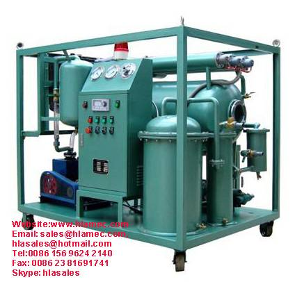 Used Lubricating Oil Purification Flushing Machine