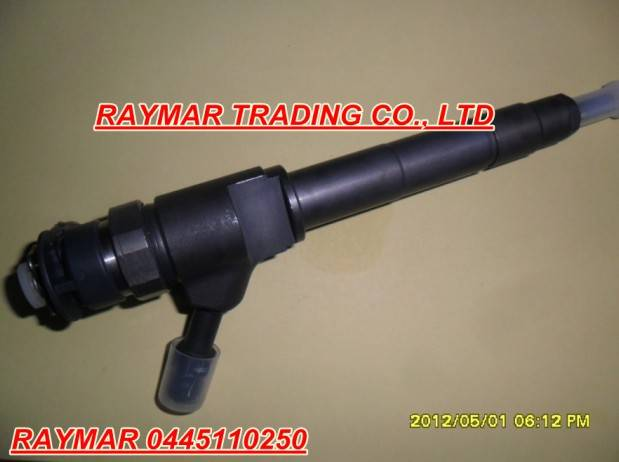 Bosch common rail injector 0445110250 for MAZDA BT-50 WLAA-13-H50