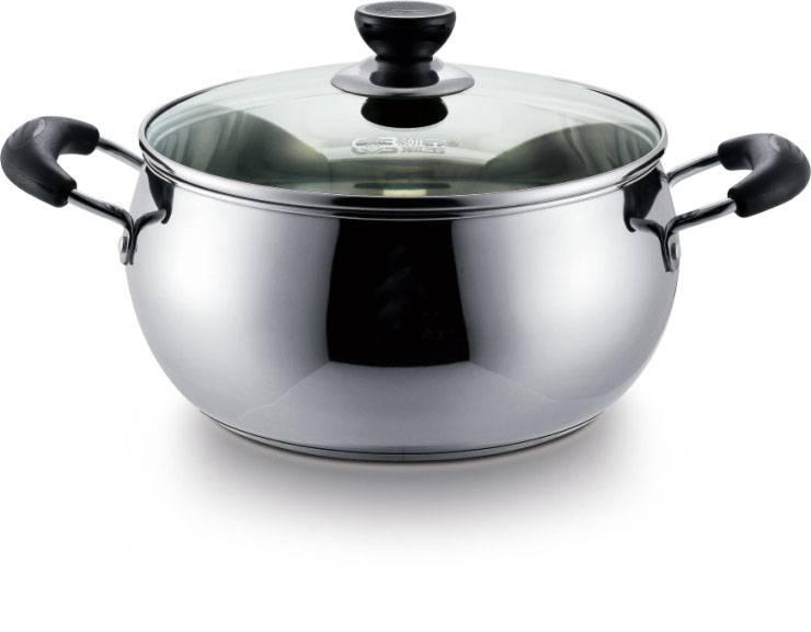 Stainless steel apple casserole