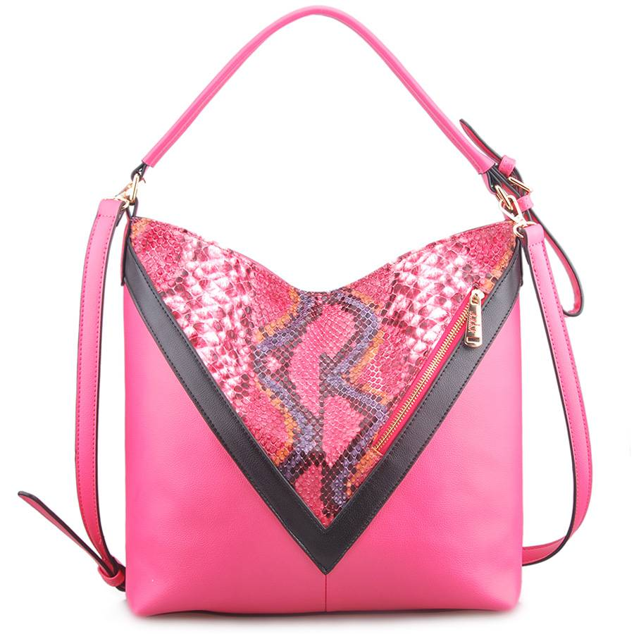 New Fashion Style Snake PU Leather Lady Shoulder Bag (LY05052)