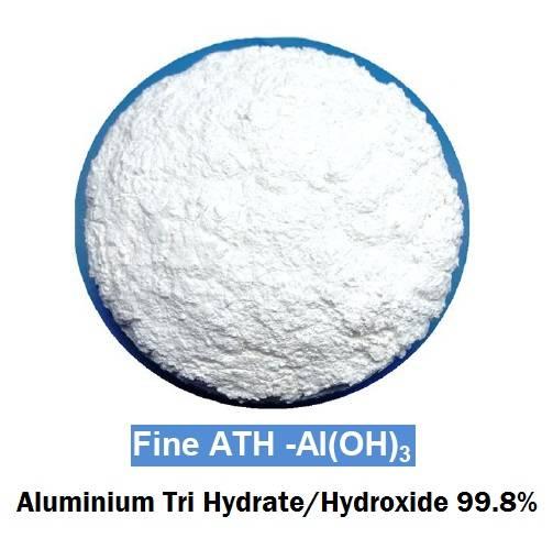 Fine Aluminium Tri Hydrate / Hydroxide 99.8%, white color