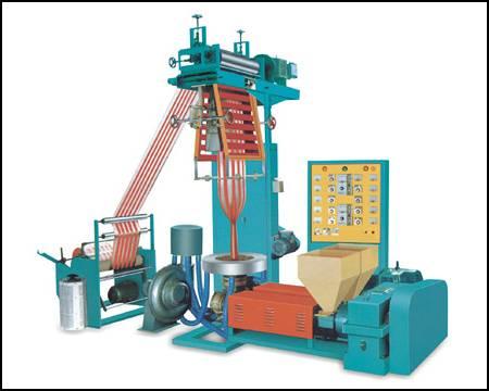 double color film extrusion machine