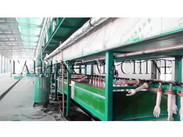 Nitrile gloves production line Glove machine