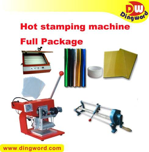 Hot Foil Stamping Machine Heat Transfer Full Package