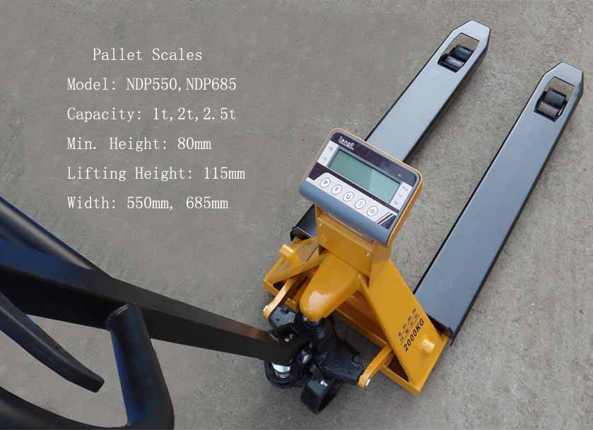 Sell hydraulic pallet truck scales