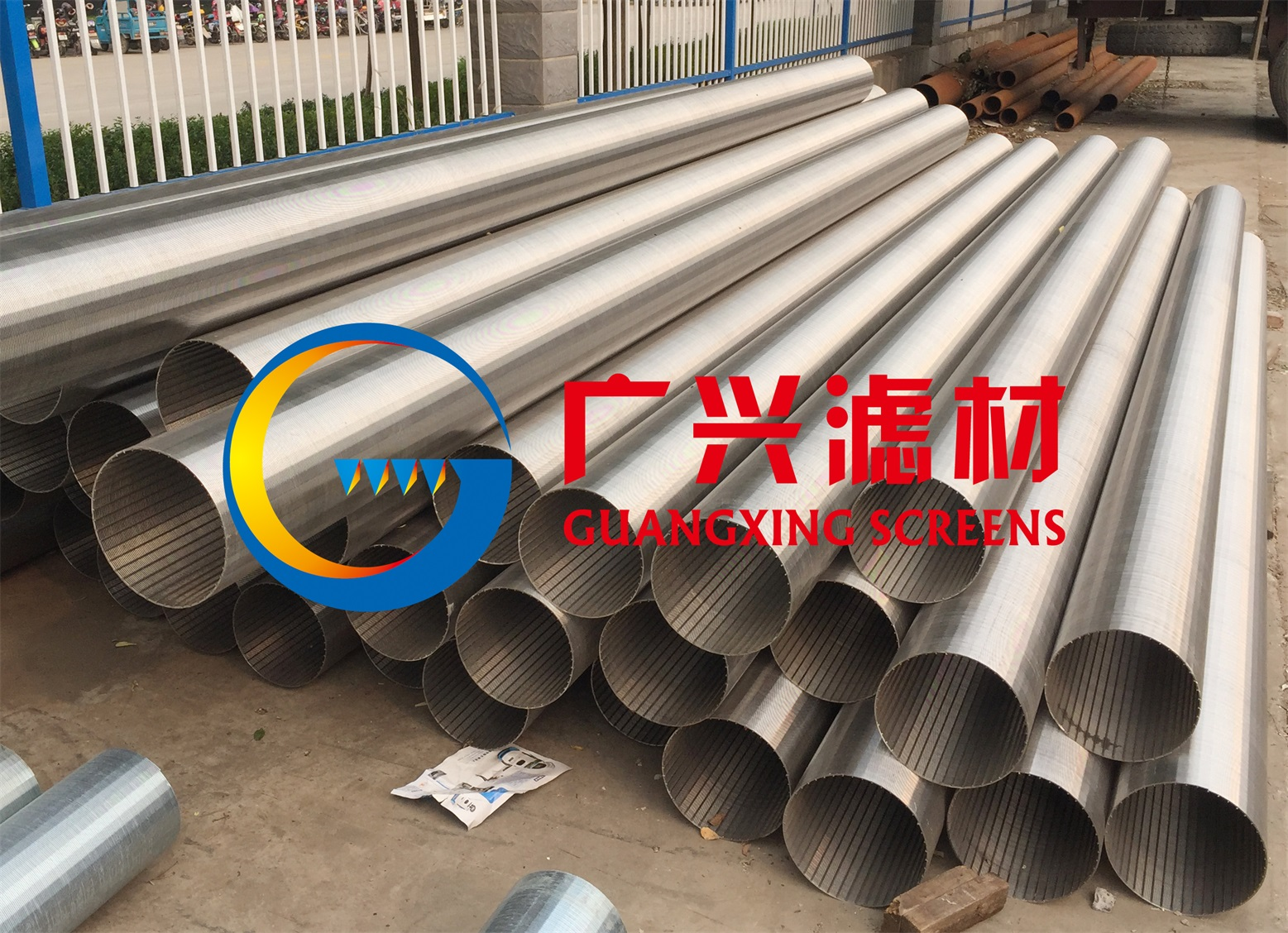 stainless steel well screen