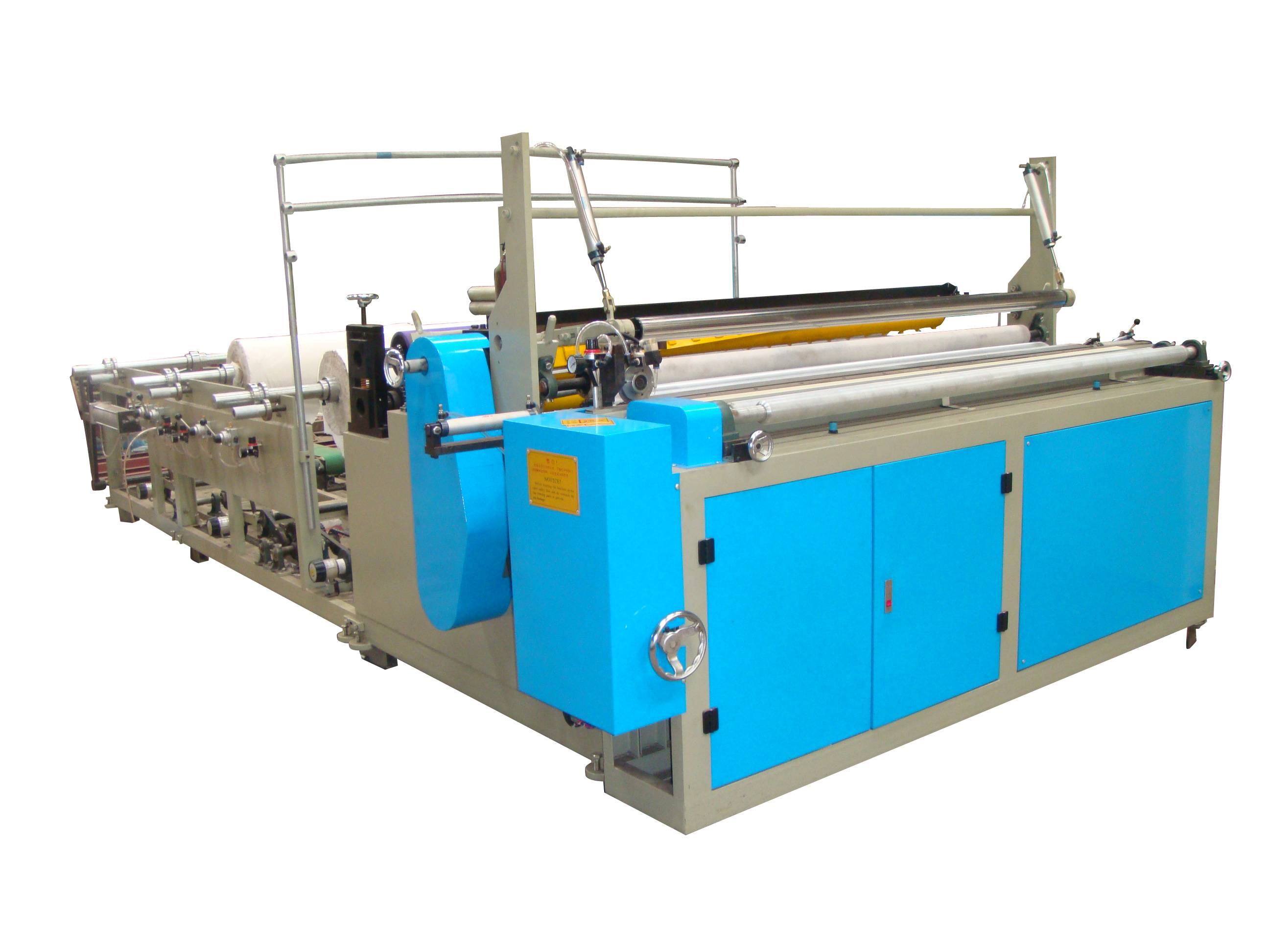 Automatic Coreless Toilet Paper Roll Making Machine