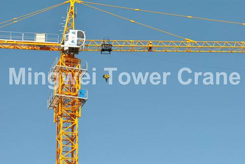 Mingwei High Quality Tower Crane China Supplier TC5516 Max. Load:8T