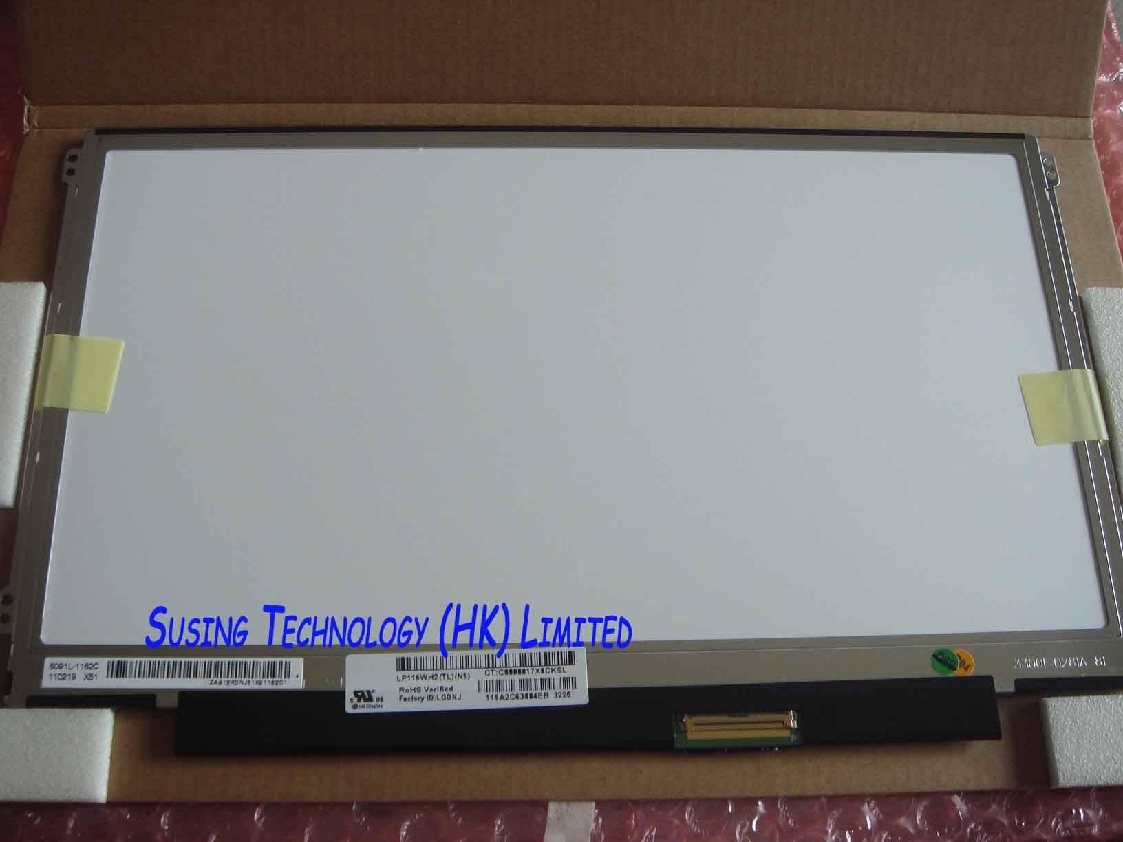 11.6-inch B116XW01 V.0 LP116WH2-TLC1 Glossy 1366x768 LED Backlight LCD Screen