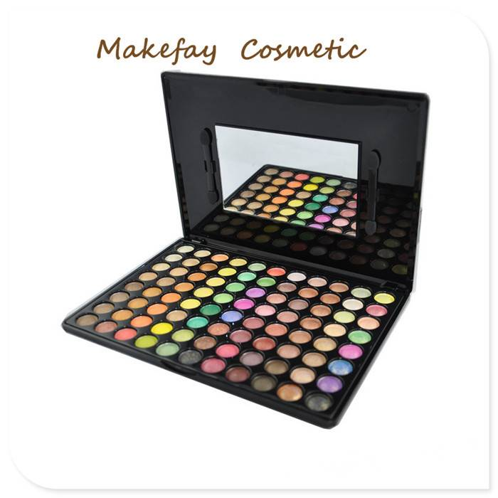 Hot sale wholesale makeup 120 colors eyeshadow palette Makeup Kit P120 multi-colored