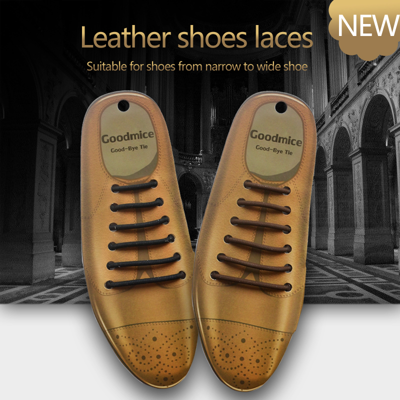 New Arrival Silicone No Tie Shoe Laces for Leather Shoes