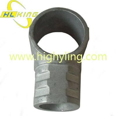 Aluminium alloy Tee Piece Triple Access for scaffolding