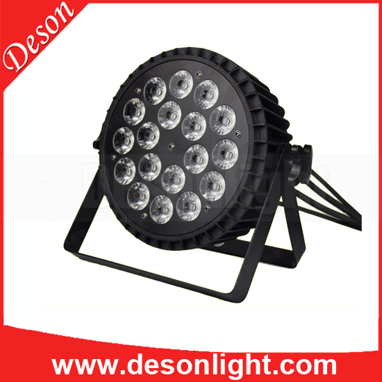 18x10w four-in-one RGBW RBGWA RGBW AMBER par light stage PAR can lighting LP-235