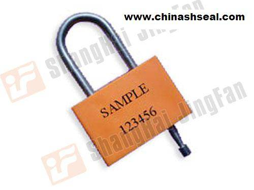 SQUARE DOUBLE-LOCK PADLOCK HIGH SERCURITY SEAL JF 00702