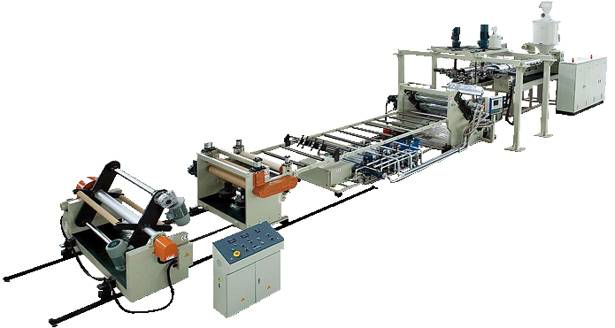 PBT Plate (Sheet) Extrusion Line
