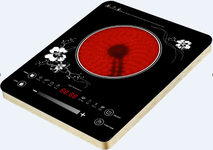 Ultra-Thin Touch Control Infrared Cooker with Aluminum Houshing (LS-DT210)