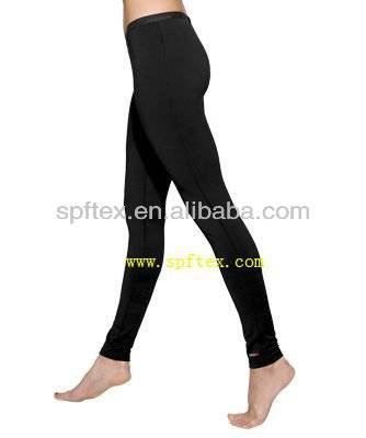 Thermal winter underwear long johns pants for women