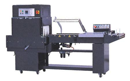 L-bar sealing and shrink machine