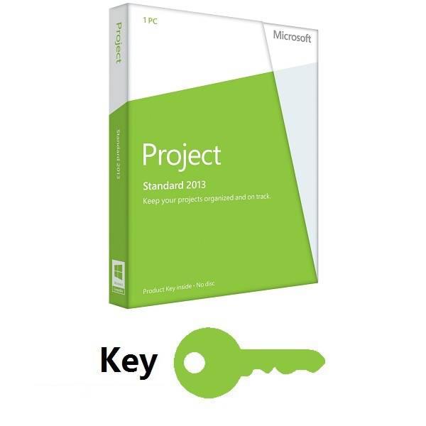 Microsoft Project Standard 2013 Key