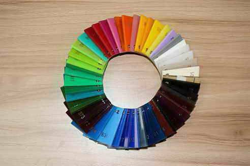 Excellent colorful acrylic sheet