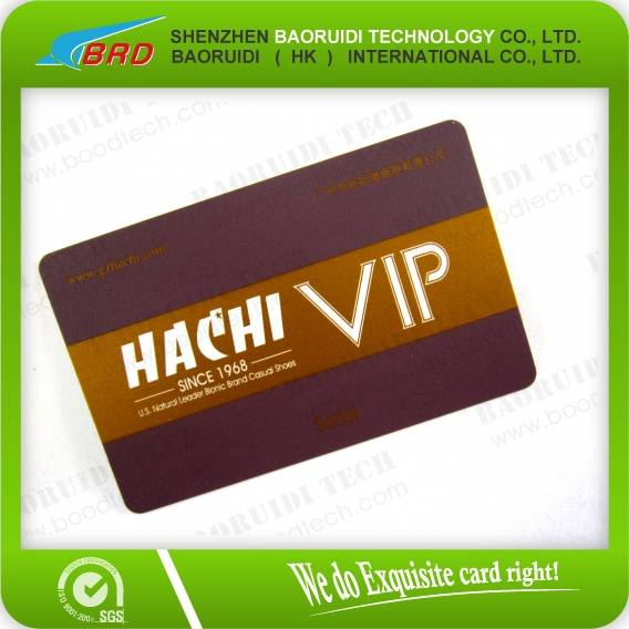 customized plastic vip card