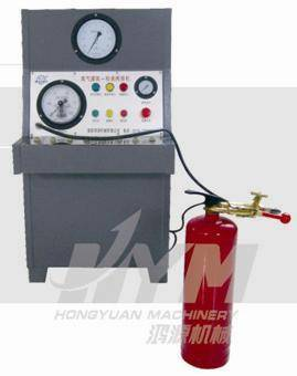 fire extinguisher Nitrogen filling and timing machine