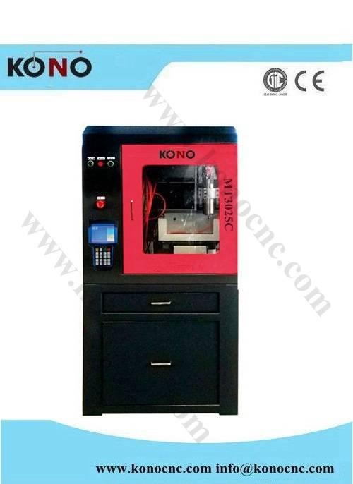 China mini metal cnc engraving machine MT3025C milling cnc