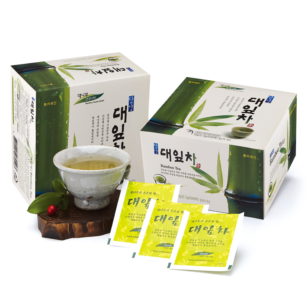Bamboo Tea(50ea)_Zero caffeine and low calorie tea for good health