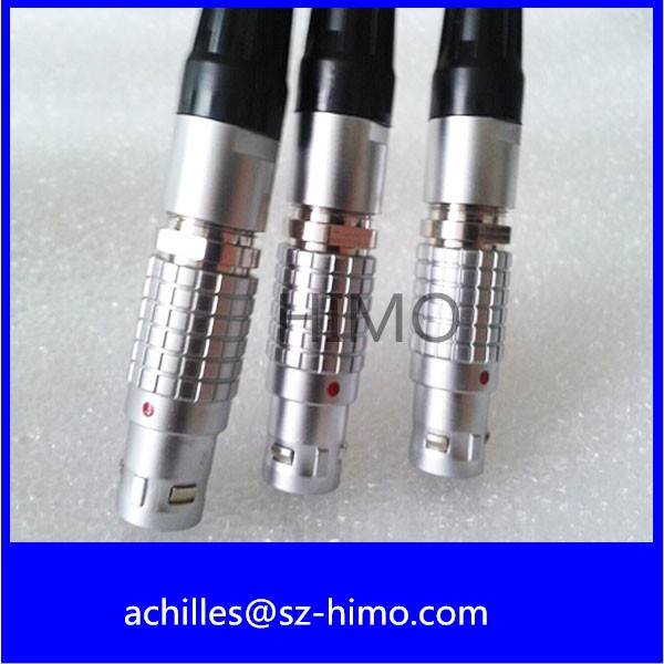 sell 0B series 9 pin push pull lemo metal connector