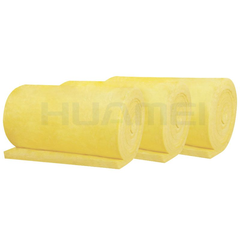Building steel structure MLEXglass wool