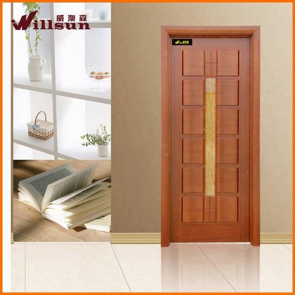 wood bathroom door for sales
