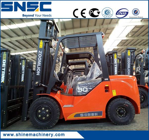 3 ton automatic Chinese diesel forklift truck for sale