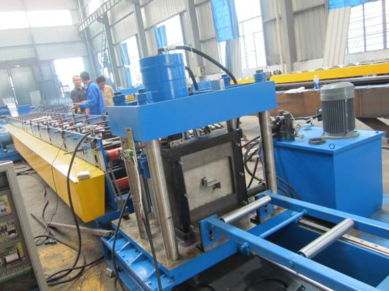 CEE/ZEE Purlin Roll Forming Machine